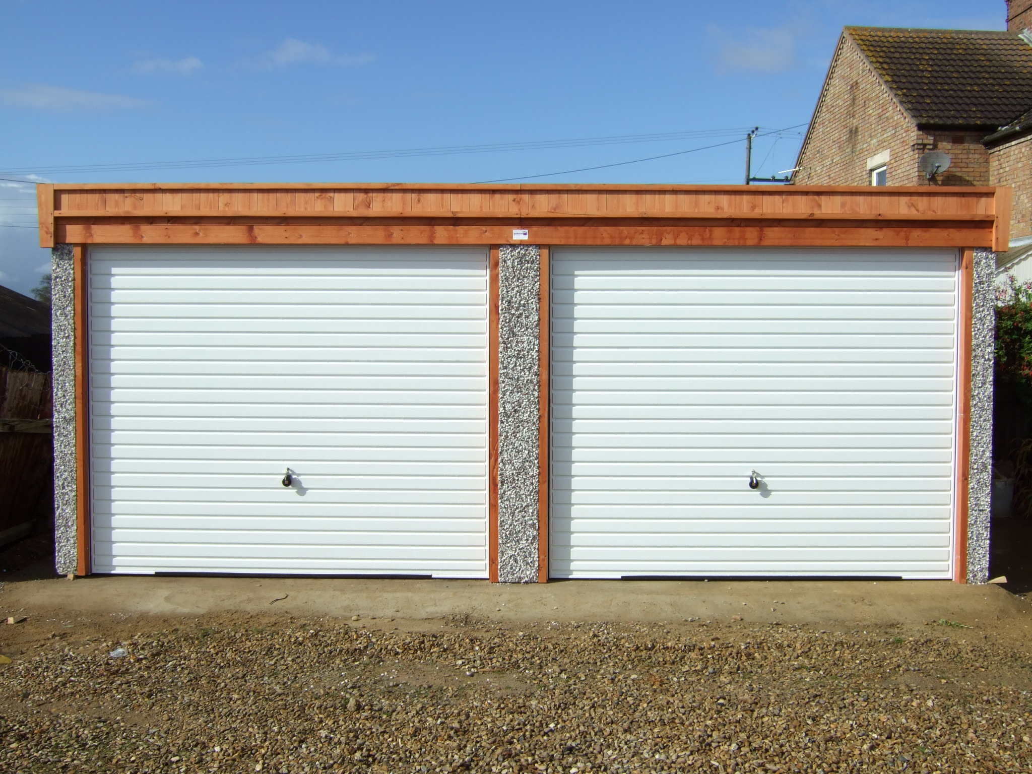 Garages Direct Flat Roofed Garages